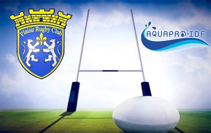 AQUAPRO-IDF sponsor du Plaisir Rugby Club !